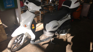 49 cc Benelli scooter
