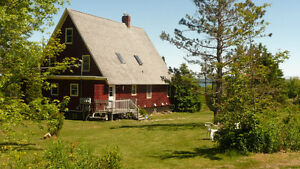 Large house with 4 apartments and water view in Guysborough