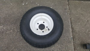 NEW RIDE ON LAWNMOWER FRONT WHEEL ( Delete when Sold )