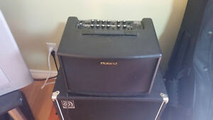 Roland AC60 with carrying case AND speaker stand