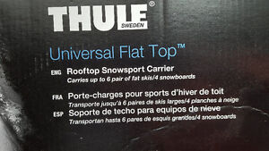 Rooftop snowsport carrier Thule 92725