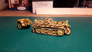 1/35 WWII German Vehicles Assembled & Painted - Lot 4
