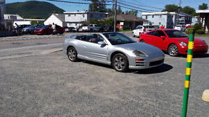 2001 Mitsubishi Eclipse cuir Cabriolet