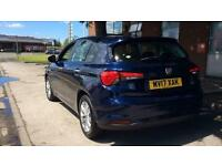 2017 Fiat Tipo 1.4 T-Jet (120) Easy Plus 5dr Manual Petrol Hatchback