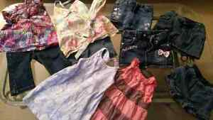 Lot vêtements d'été 2-3T fille