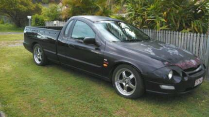 AU XR8 Ford Falcon Ute Tickford parting out Eagleby Logan Area Preview