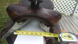 Western saddle for sale-Can bring to PG Dec3rd Prince George British Columbia image 3