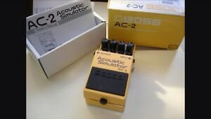Boss acoustic simulator AC2