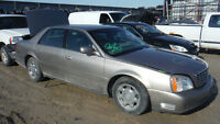 2002 CADILLAC DEVILLE PART OUT! YL184