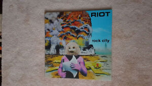 RIOT ROCK CITY VINYL ! BRAND NEW !