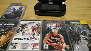 PSP and 6 games