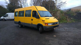 IVECO DAILY 50C13 18 SEAT MINIBUS WHEELCHAIR LIFT 1 OWNER FROM NEW LOW MILEAGE
