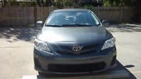 2013 Toyota Corolla Front wheel Sedan