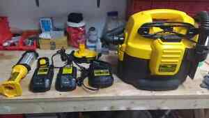 Dewalt batteries and Chargers