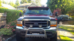 2001 F350, SHORT BOX, EXTENDED CAB