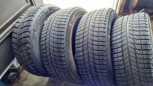4 Pneus Michelin X-Ice 225/55R17