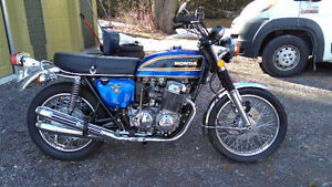 honda cb750 four 1975 completely restored. beautiful!!