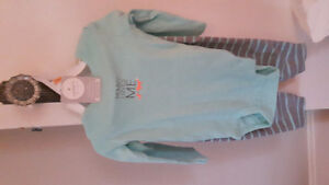Carters 12 month 3 piece set - brand new