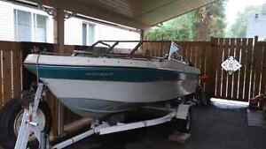 Great Shape BOAT PACKAGE WITH 50HP MERC AND TRAILER