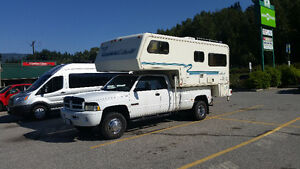 2001 Dodge Power Ram 3500 Pickup Truck & Oakland Camper