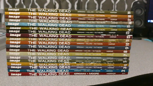 Walking Dead Graphic Novels 1-19