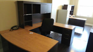 COMPLETE Office Desks - SELL FAST $500