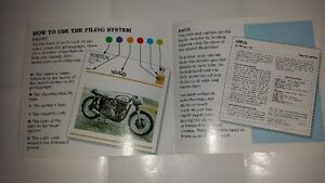 Motorcycle Index Cards - Frame 1 or All 150 cards Strathcona County Edmonton Area image 7