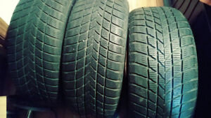 225 55 16 hiver 4 pneus hankook performance 8/32