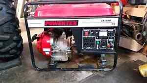 POWERTEK LT 7500 WATTS GENERATOR WITH A 16 HP MOTOR