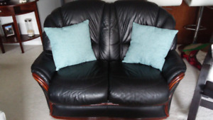 Genuine Italian Leather Sofa