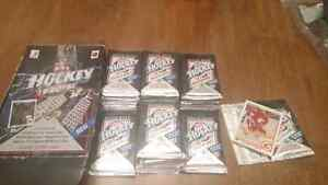 Upper Deck Hockey cards sealed 90-91