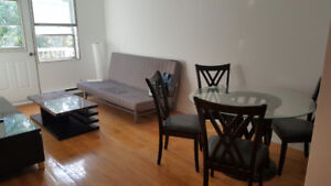 4 1/2 NDG fully furnished and renovated