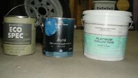 Interior paint new in sealed cans