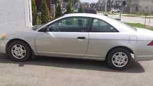2001 Honda Civic Coupe LOW kilometers