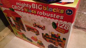 Mighty blocks. New never opened