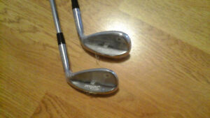 Titleist Vokey SM7 wedges sand 56 and lob 60. New right