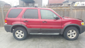 2006 Ford Escape V6 Loaded