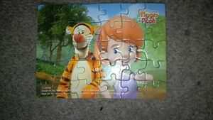 Winnie the Poo & Tigger Puzzles Cambridge Kitchener Area image 4