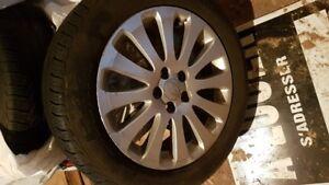 205/55r16 Pirelli P4 4 saisons + mags subaru impreza 2008