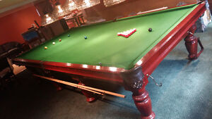 Beautiful Snooker Table 6 x 12