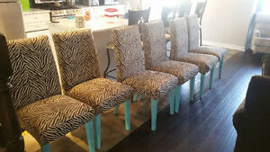 6 dining rm chairs Cambridge Kitchener Area image 1