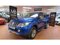2016 MITSUBISHI L200 Double Cab DI D 178 Warrior 4WD Auto New Shape