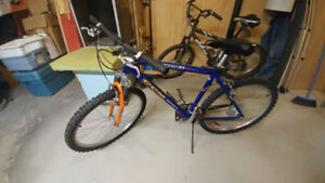 Front Suspension Mountain Bike  (tuned-up)