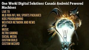 One World Digital Solutions Android Powered Machine
