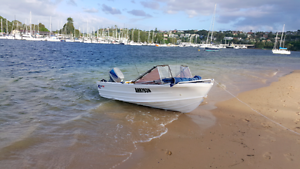 Quintrex Fishabout MKII 13ft w/ Suzuki 50hp Manly Vale Manly Area Preview