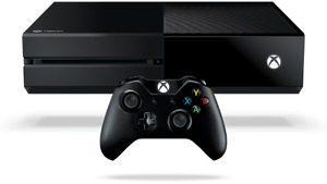 Xbox One, Controller, 3 games
