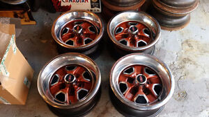 OLDSMOBILE CUTLASS 442 SSII RALLYE RIMS SET OF 4 COMPLETE