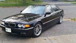 1999 BMW 7-Series 740il Sedan REAL CLEAN