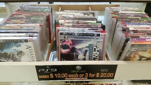 ps3,wii and xbox 360 games