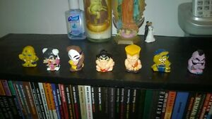 Street Fighter 7 Mini Figures chun-li, vega, dhalsim